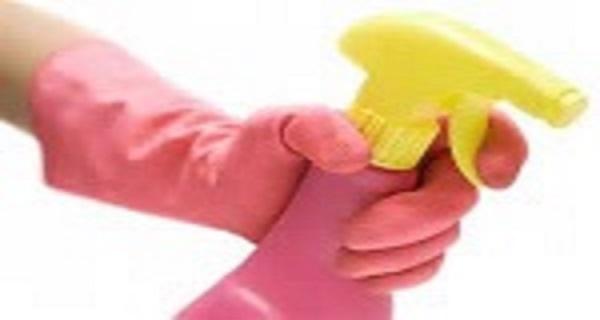 a limpeza da pia da cozinha aspersor